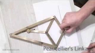 getlinkyoutube.com-Peaucellier's linkage (www.howround.com)