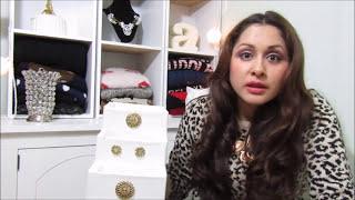 getlinkyoutube.com-Organizador para maquillaje con cajitas de carton 😘💋💄