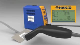 【HAKKO FG-102】こて先温度管理工程の新提案