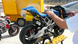 getlinkyoutube.com-Warm UP minimoto BMS BZM-Polini