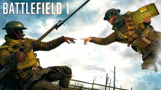 getlinkyoutube.com-Battlefield 1 - Random & Funny Moments #12 (Ricochet Soldiers, Funny Killcams!)