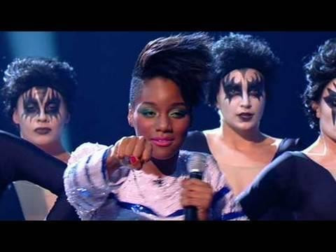 The X Factor 2009 - Rachel Adedeji - Live Show 1 (itv.com/xfactor)
