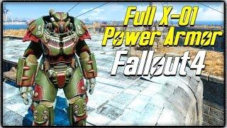 "getlinkyoutube.com-Fallout 4 - FULL ""X-01 POWER ARMOR"" SUIT LOCATION! Rare Power Armor Guide! (FO4)"