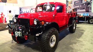 getlinkyoutube.com-1947 Dodge Power Wagon SEMA 2014