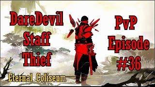 getlinkyoutube.com-Guild Wars 2 - DareDevil Staff Thief PvP Episode 36 #100% DMG