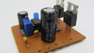 DIY Simple inverter from 12V to 220V