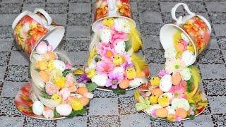 getlinkyoutube.com-Парящая чашка (сувенир на Пасху). Мастер-класс