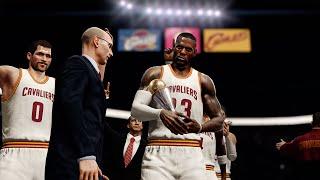getlinkyoutube.com-NBA LIVE 16 - Cleveland Cavaliers vs Los Angeles Clippers Gameplay | Finals Celebration!!