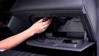 getlinkyoutube.com-Montage eines Zenec ZE-E5514M im Seat Ibiza