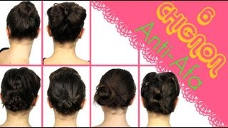 getlinkyoutube.com-6 Chignon ANTI-AFA!