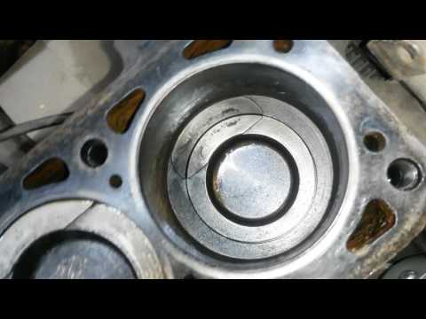 Сильно ходят поршня двигатель ABS 1 8 vw b3