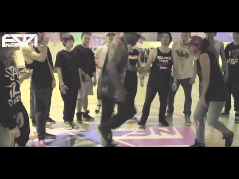 FNF SUMMER DANCE INTENSIVE 2012 - TIGHT EYEZ - krump session trailer
