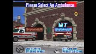 Emergency Call Ambulance SEGA 1999 - Gameplay [EGA]