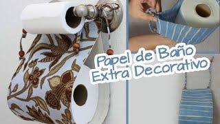 getlinkyoutube.com-Extra de Papel de Baño :: Decorativo para Baños :: Manualidades Chuladas Creativas