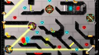 getlinkyoutube.com-Fireboy and Watergirl-4 - The Crystal Temple Walkthrough