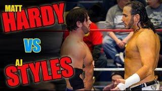 getlinkyoutube.com-Matt Hardy vs AJ Styles FULL MATCH