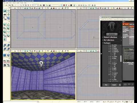 UDK Tutorial Part 43: Simple Level- Selecting Materials