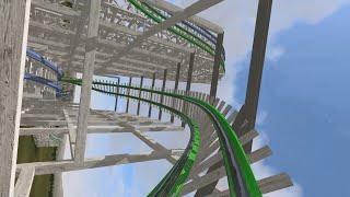 getlinkyoutube.com-Twisted Colossus Six Flags Magic Mountain (No Limits 2 recreation)