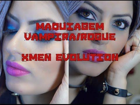Maquiagem Inspiração Vampira