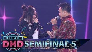 Romantis! Candra Gombalin Rina Nose Sambil Nyanyi - Semifinal Kilau DMD (23/3)