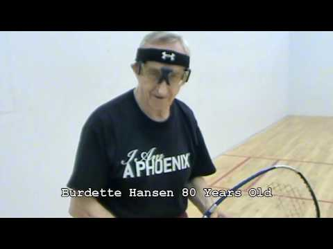 80 Year Old Racquetball Player
