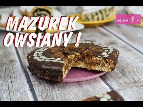 Mazurek Owsiany przepis wielkanocny od Deserek.TV