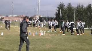 getlinkyoutube.com-SpazioJuve sui campi di Vinovo: rifinitura pre Juventus-Trabzonspor