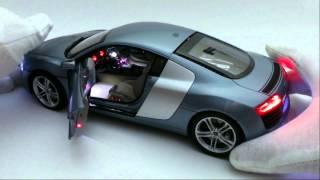 getlinkyoutube.com-Audi R8 leds control remoto escala 1-18