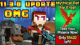 getlinkyoutube.com-NEW UPDATE 11.3.0 FREE PETS AND MORE !!!! PIXEL GUN 3D!