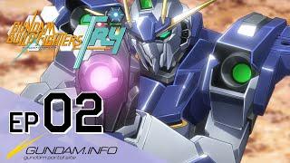 getlinkyoutube.com-GUNDAM BUILD FIGHTERS TRY-Episode 2: Team Up, Try Fighters! (ENG sub)