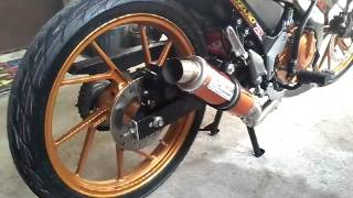 getlinkyoutube.com-RAIDER R150 LIMITED EDITION WITH DAENG MUFFLER V4