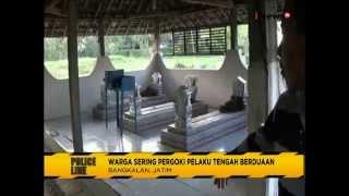 getlinkyoutube.com-Astagfirullah!! Sepasang PNS Sekolah SD Kepergok Mesum di Kuburan - Police Line 11/08