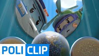 getlinkyoutube.com-Take out Space Superball (Korean)  | Robocar POLI Clips
