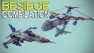 getlinkyoutube.com-►Besiege Compilation (W19) - Real life Flyers