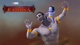 getlinkyoutube.com-Little Krishna Tamil - Episode 12 Trinavarta