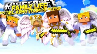 getlinkyoutube.com-ANGELS FROM HEAVEN HELP SAVE OUR DAD!! Minecraft FAMILY LIFE w/ Angel Baby Leah.