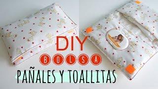 getlinkyoutube.com-DIY. Bolsa para pañales y toallitas de bebe. Pinafili Films