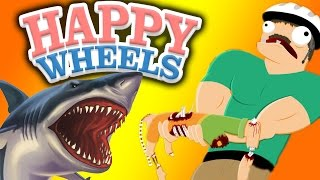 НАПАДЕНИЕ АКУЛ - Happy Wheels - Возвращение! - №25