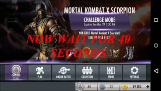 getlinkyoutube.com-35.INJUSTICE:Skip Challenges for Free and RESET MKX Scorpion Challenge ANDROID