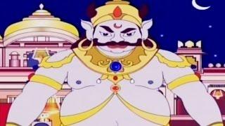 getlinkyoutube.com-Kumbhakarna : The Sleeping Demon | Animated Tamil Story | Full Episode