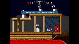 getlinkyoutube.com-Super Mario Bros. X (SMBX) - Evil 8 Boss rush playthrough