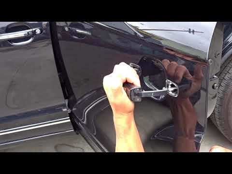 Audi q7 rear door handle remove
