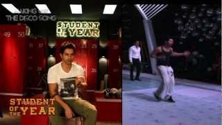 getlinkyoutube.com-The Disco Song - Making - Student Of The Year - Sidharth Malhotra, Alia Bhatt & Varun Dhawan