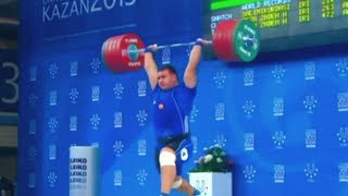 "getlinkyoutube.com-Best of  Weightlifting ""Russia vs. Iran"" - 2013"