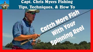 getlinkyoutube.com-How to Cast a Spinning Reel and catch more fish