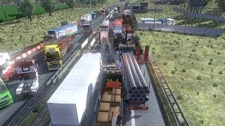 Euro truck simulator multiplayer - road rage, bad drivers