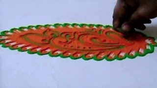 getlinkyoutube.com-Special Rangoli Design 13