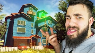 getlinkyoutube.com-WHAT'S BEHIND THE GLOWING DOOR ON THE ROOF? - HELLO NEIGHBOUR (Hello Neighbor Gameplay)
