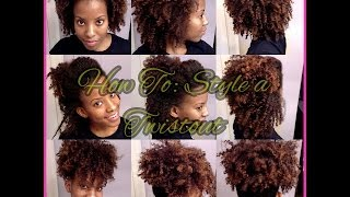"""getlinkyoutube.com-Four Easy Styles with a Twist Out! 
