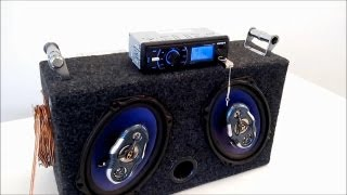 getlinkyoutube.com-Som Automotivo Caseiro com Fonte 12V e Potência Ligado na Tomada